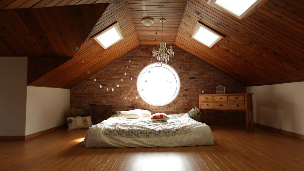Schimmelpilz im Dachstuhl