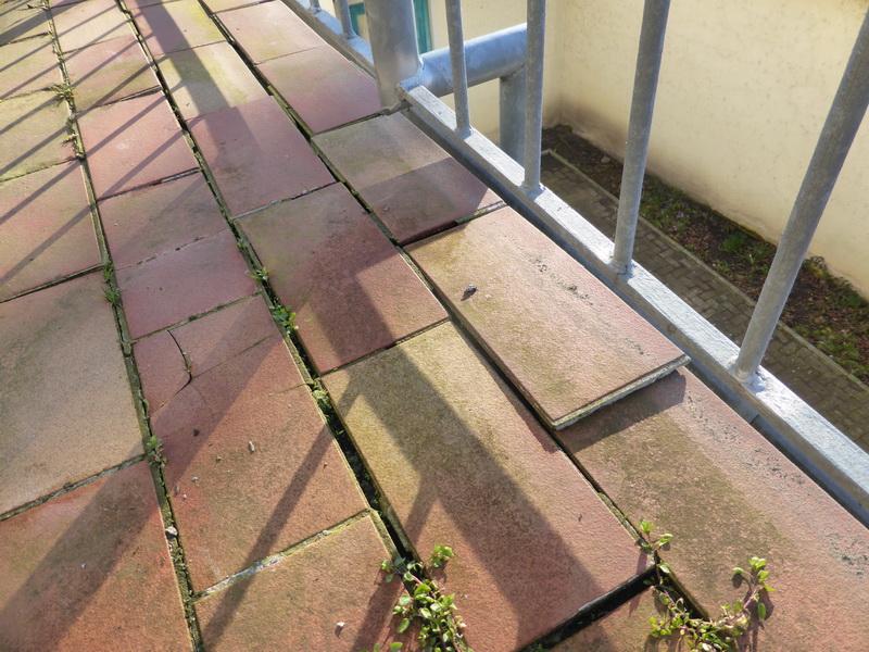 Schadhafter Balkon