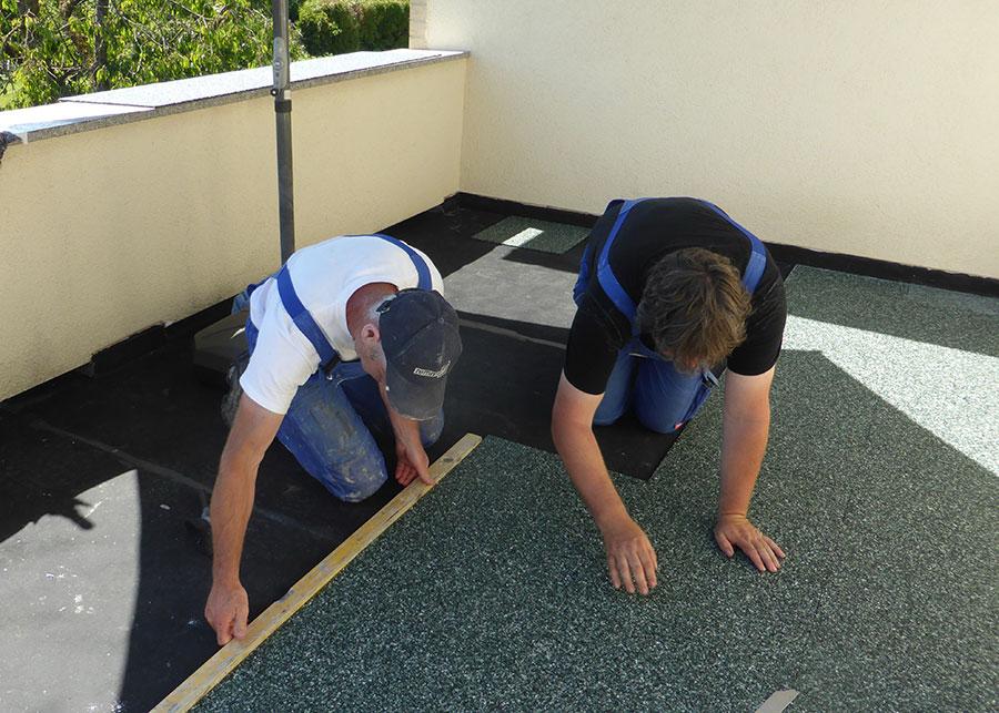 Ausführung der Balkon- und Terrassensanierung durch erfahrene Spezialisten der R.K. Werterhaltung GmbH
