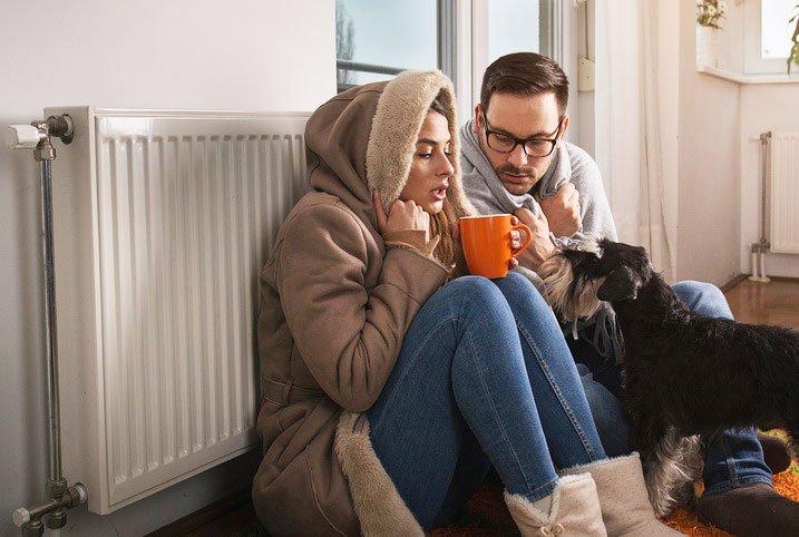 Heizkosten sparen durch Haus trockenlegen
