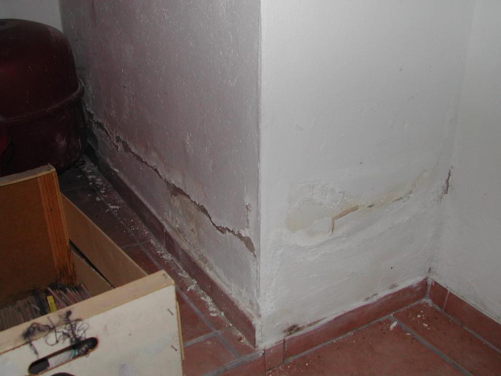 Feuchtigkeit im Mauerwerk