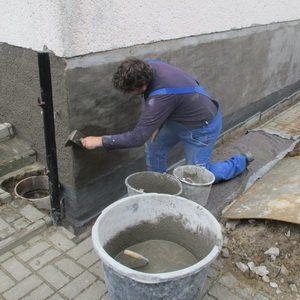 Trockenlegung von Bauwerken